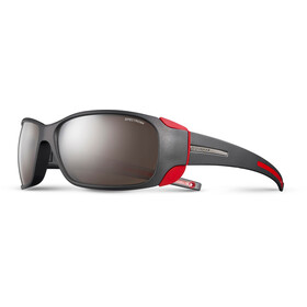 Julbo Montebianco Spectron 4 Lunettes de soleil, matt black/red-brown flash silver